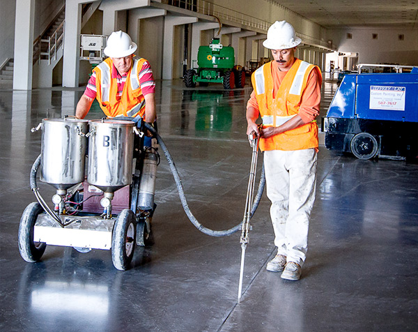 Commercial Concrete Coat